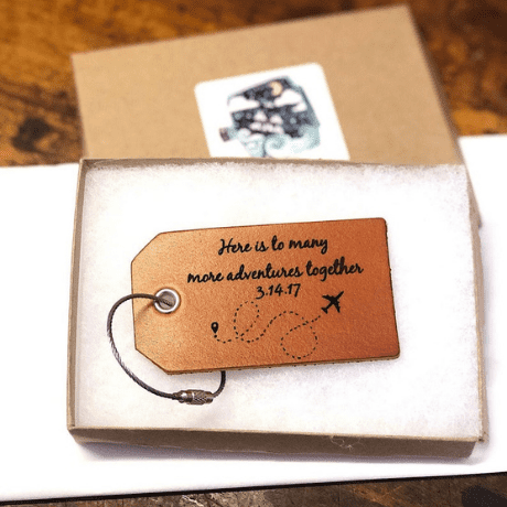 Luggage Tag - anniversary gifts for her