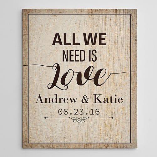 All We Need Is Love Custom