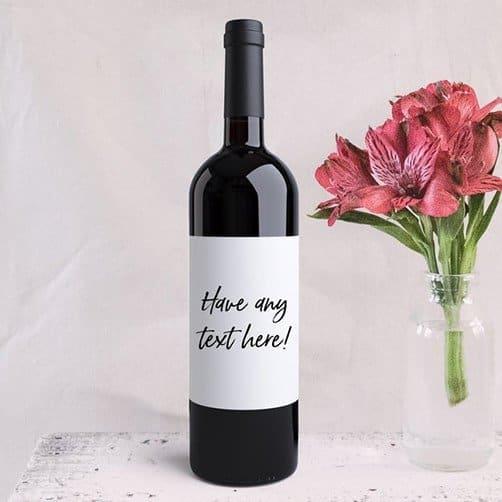 Custom Wine Lable