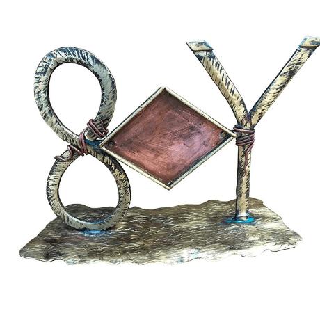 Bronze Photo Frame - 8 year anniversary gift