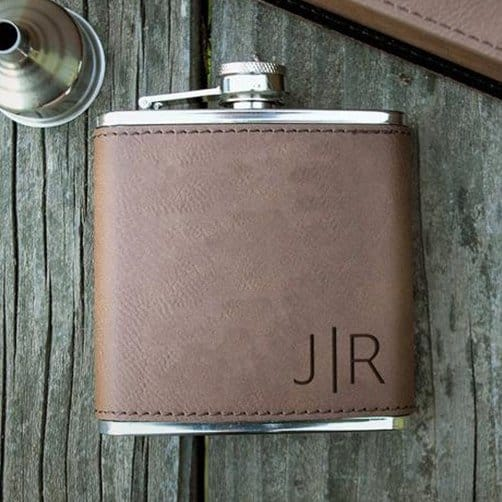 anniversary present for husband: Flask
