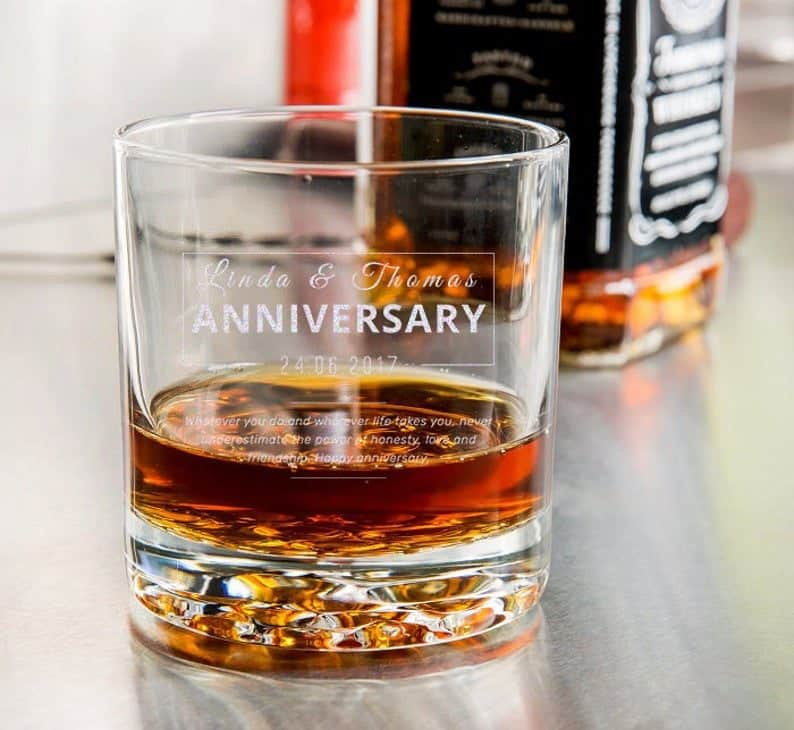 anniversary presents for him: Glass