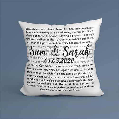 Song Pillow