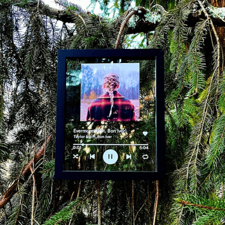 Spotify Plaque - anniversary gifts for her