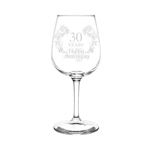 Anniversary Wine Glasses