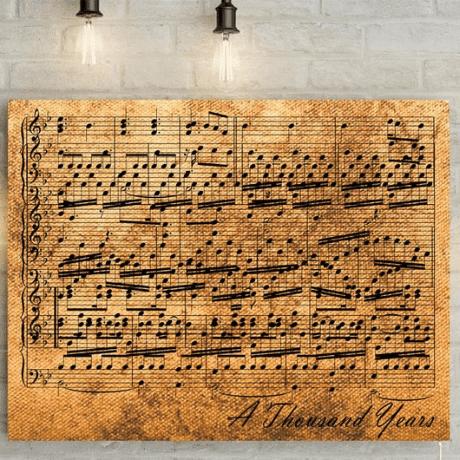 Music Sheet Canvas