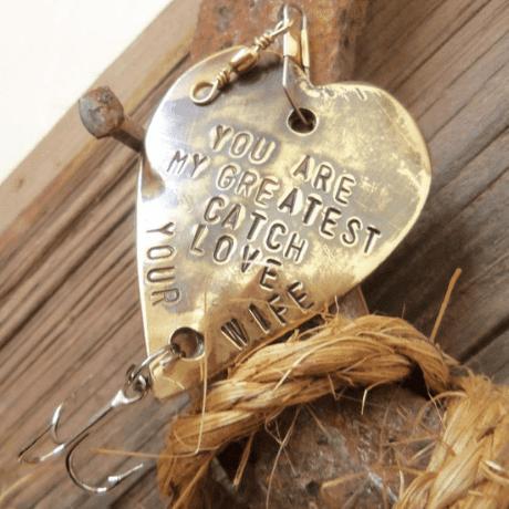 Fishing Lure - 8 year anniversary gift