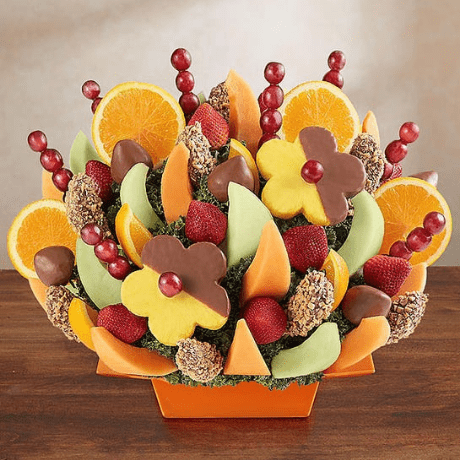 Abundant Fruit and Dipped Delights