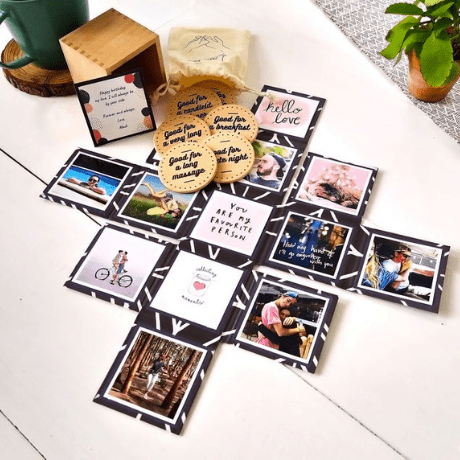 Love Photo Box - anniversary gifts for her