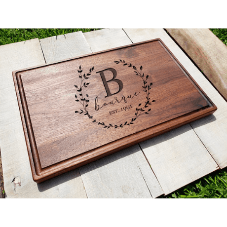 Personalized Cutting Board - 8 year anniversary gift