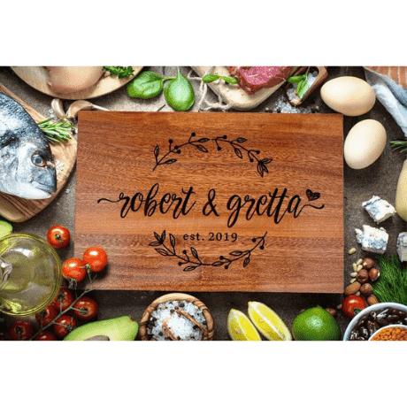 Cutting Board - anniversary gifts for her