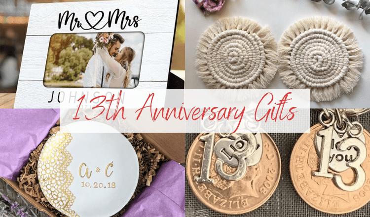 Surprise Your Spouse with these 13th Anniversary Gift Ideas