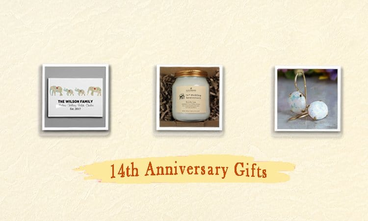 33+ Memorable 14th Anniversary Gifts for Husband, Wife, and Couples