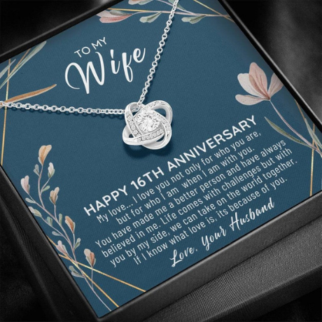 Necklace - 16th anniversary gifts