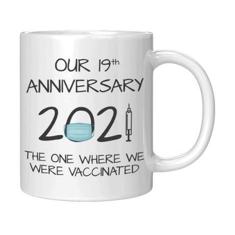 Coffee Mug - 19th anniversary gifts