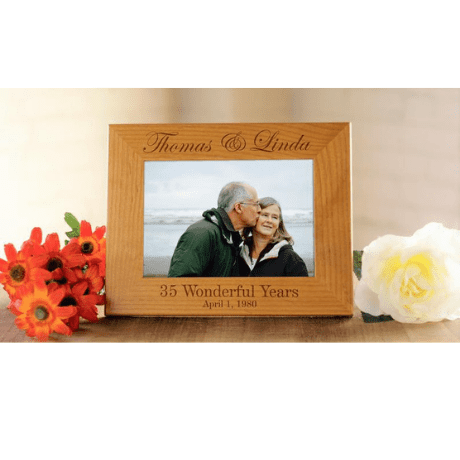 Photo Frame - 35th anniversary gifts