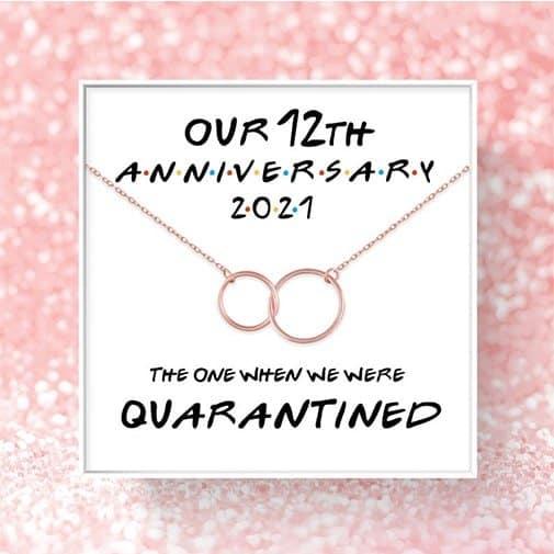 twelve year anniversary: Bracelet for Wife
