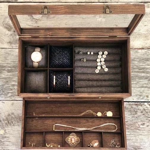 Jewelry and Watch Storage