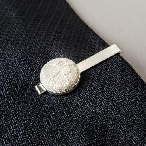 13 years anniversary: Lace Tie Bar