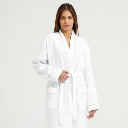 Natural Linen Robe