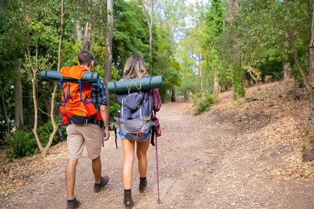 Go Backpacking - anniversary ideas