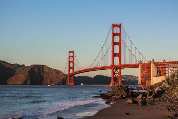 San Francisco - The Golden Gate Bridge
