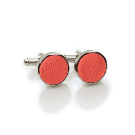 Coral Cufflinks - 35th anniversary gifts