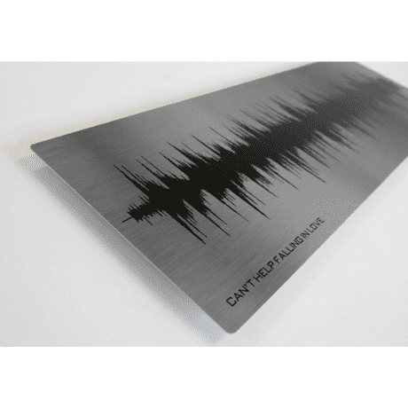 Song Sound Wave - 16th Wedding Anniversary Gift