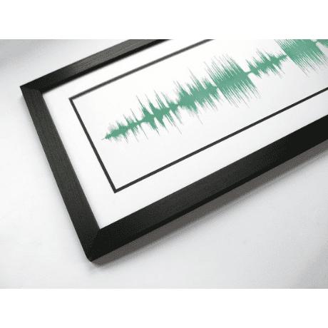 Song Soundwave Art Print