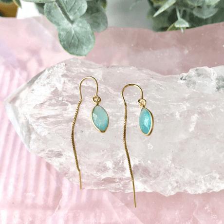 Turquoise Drop Earring