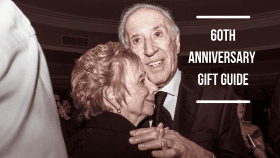 60th anniversary gift banner