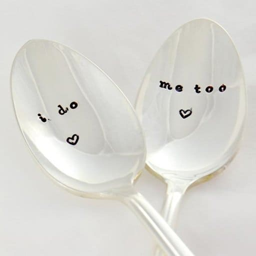Personalized Wedding Spoons