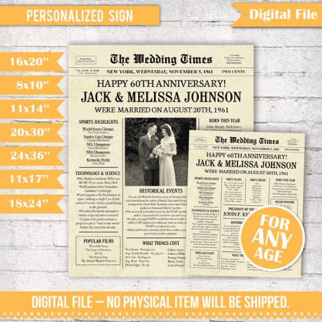 Newspaper Decoration