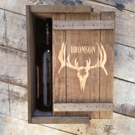 Hunting Whiskey Box
