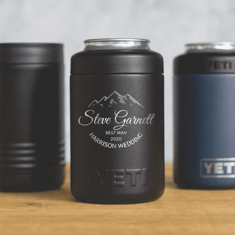 Engraved YETI Colster