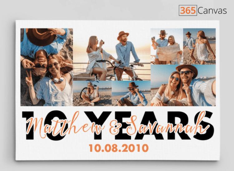 10-year-anniversary-photo-canvas