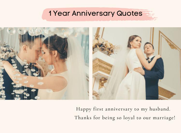 1 year anniversary quote