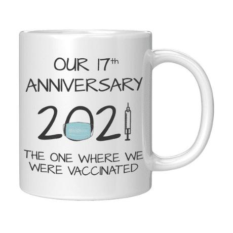 Coffee Mug - 17 year anniversary gifts