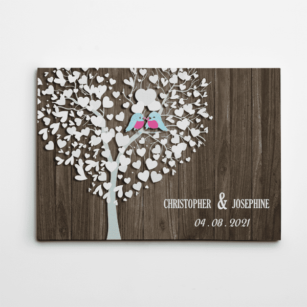 first christmas together gift ideas: ustom Canvas Print