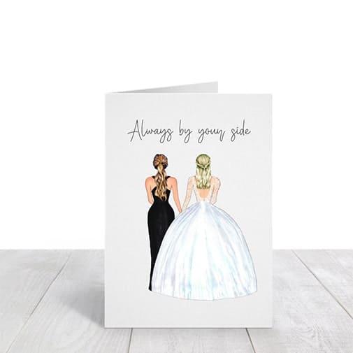 Custom Wedding Day Card
