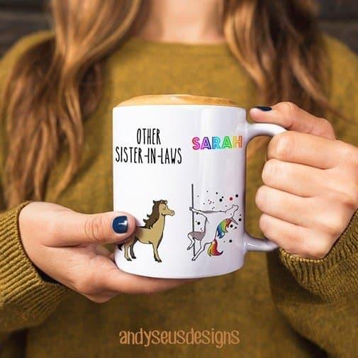 sister in law gift idea: Funny Mug Sister in Law