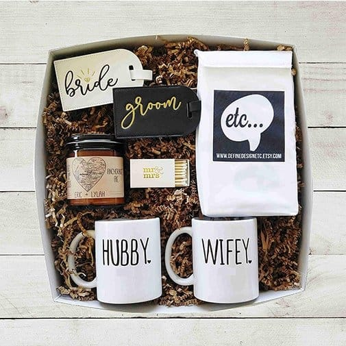 gifts for newlyweds who have everything: Gift Basket