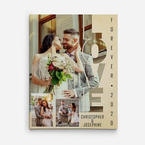Love Custom Photo Canvas Print