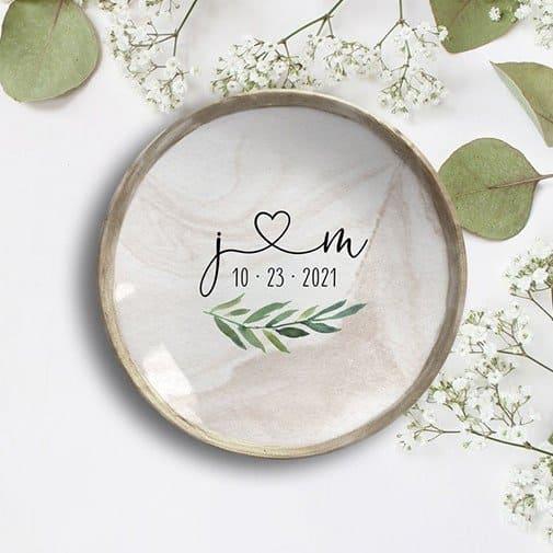 Personalized Jewelry Dish