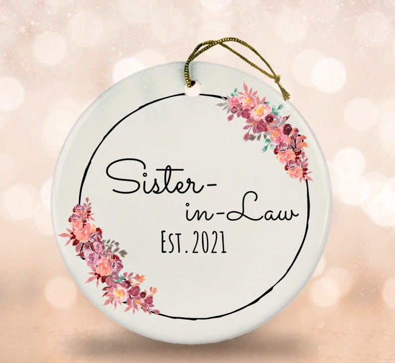 wedding gifts for sister: Sister-In-Law Keepsake