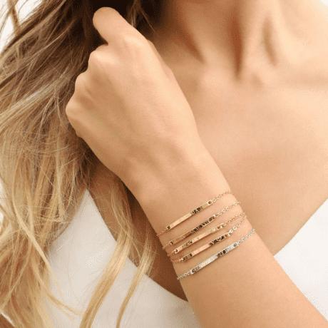 gold-coated bracelet