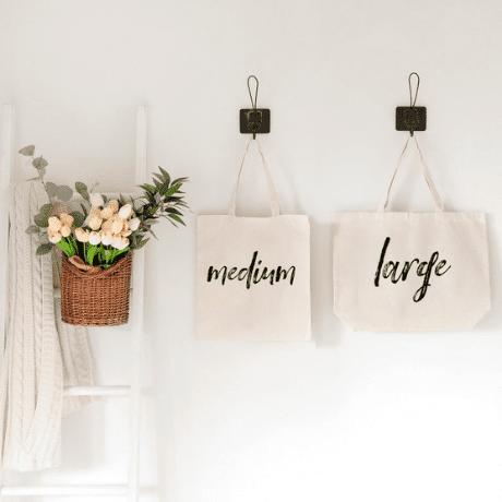 Personalized Custom Name Tote Bag