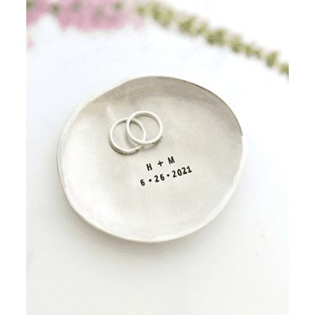 Personalized Ring Dish  - gifts for wife