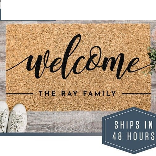 best gifts for new homeowners: Doormat