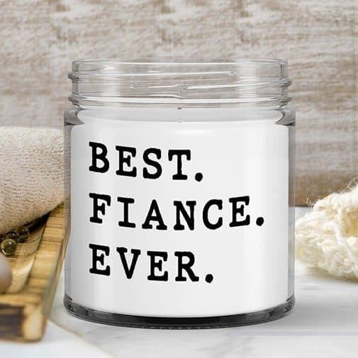 Funny Fiance Candle